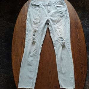 NOBO distressed mid rise skinny jeans size 11